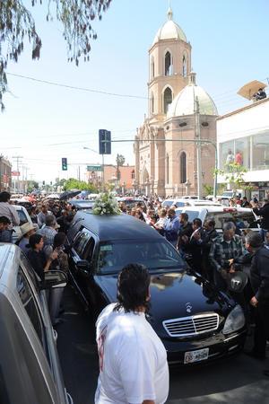 Los laguneros le mostraron cariño al expresidente de Gómez Palacio.