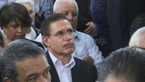 José Rosas Aispuro, candidato panista a la gubernatura, se encontraba entre los asistentes.