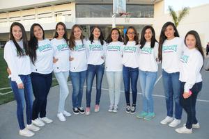 02032016 Diana, América, Cristina, Fernanda, Verónica, Geraldine, Sofía, Frida y Andrea.