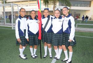 02032016 Equipo juvenil de basquetbol del Instituto Británico de  Torreón.