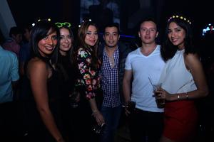 Ale, Andrea, Cristina, Juan, Daniel y Ana