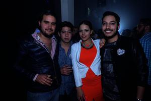Bernardo, David, Paloma y Erick