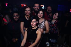 Horacio, Karla, Charmein, Cristy, Ricardo, Mike y María