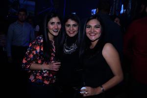 Natalia, Karla y Cynthia