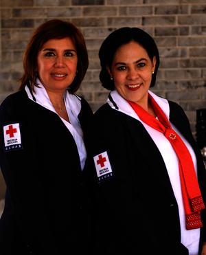 Gabriela de Jiménez y Leticia Elizondo