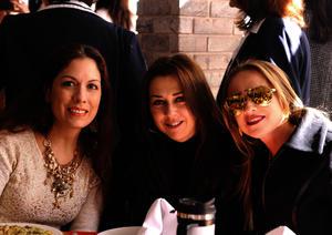 Lorena, Lily y Ana