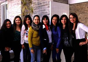 Lucy, Katy, Vero, China, Melina, Liz, Sandra y Dulce