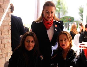 Magaly, Liliana y Ana