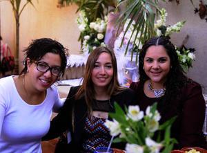 Angie, Diana y Paty