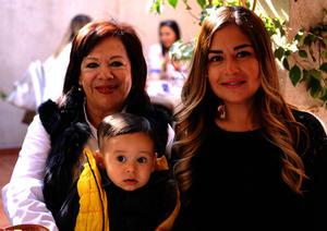 Isabel Cristina, Diego y Sonia