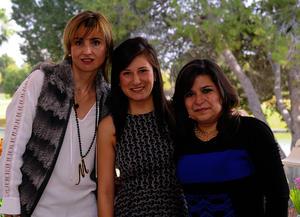 Marcela, Sofía y Susana