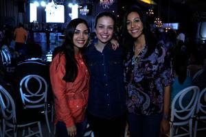 Daniela, Estefanía y Marifer