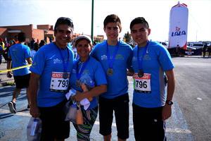 Miguel, Margarita, Eduardo y Mike
