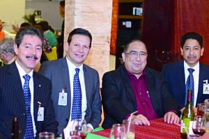 04032016 RECIENTE EVENTO.  Luis, Carlos, Eugenio y Antonio.