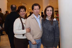 04032016 Crista, Julio y Ana Isabel.