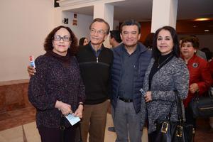 04032016 Marcela, Luis Rey, Julio y Norma.