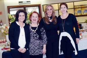 07032016 JARDINERAS.  Magda, Tita, Nora y Susy.