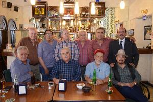 08032016 REUNIÓN DE AMIGOS.  Patricio, Francisco, Paco, Jorge, Pedro, Alejandro, Héctor, Jaime, Charly y Luis.