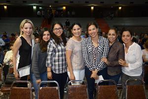08032016 Ana, Cecy, Andrea, Valeria, Cristy, Mayra y Ana.