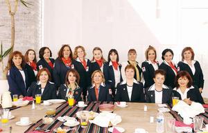 09032016 DESAYUNO ENTRE AMIGAS.  Comité de Damas Voluntarias de la Cruz Roja.