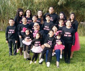 09032016 EN FAMILIA.  Jaime Silos y María Ortiz en compañía de sus hijos, Marisol, Fabiola, Saraí, Jaime y Adriana, y sus nietos.