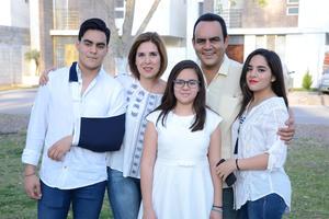09032016 Jorge, Tina, Camila, Jorge y Daniela.