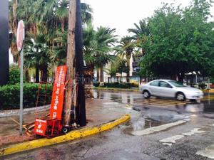 Se tienen previstas lluvias fuertes para La Laguna.