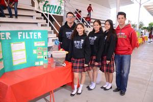10032016 Luis, Jessica, Karen, Ana Gaby y Eduardo.