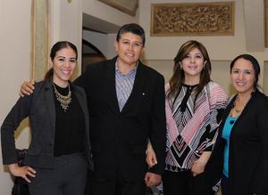 11032016 Eunice Martínez, Gerardo Martín, Juanis Guzmán y Nancy García.