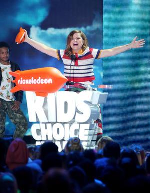 Amy Poehler ganó por la mejor voz en una película animada por su trabajo en Inside Out.