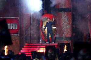 Robert Downey Jr. se hizo presente en la entrega de premios.