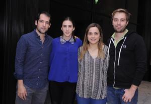 12032016 Cristina, Emilio, Dolores y Leonel.