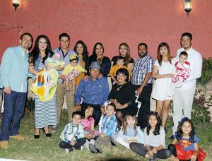 14032016 MUCHAS FELICIDADES.  Abdón Rodríguez Rubio en su celebración de cumpleaños.