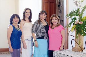 13032016 ENTRE AMIGAS.  Chepis, Clarisa, Rosy y Juanita.