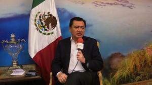 En entrevista con El Siglo de Torreón, el secretario de Gobernación reconoció que las  condiciones de seguridad que prevalecían en La Laguna hace tres años eran complicadas.