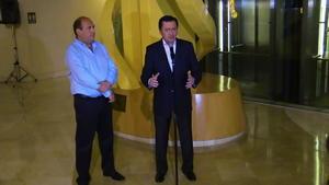 Osorio Chong encabezó además la firma del Convenio de Coordinación Metropolitana de La Laguna en el que participa el gobernador Rubén Moreira Valdez y el de Durango, Jorge Herrera Caldera.