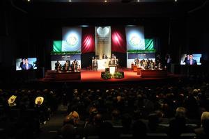 El gobernador del estado de Durango, Jorge Herrera Caldera, presentó su último informe de gobierno.