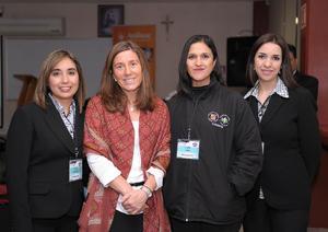 15032016 Gabriela, Carola Grove, Lupita y Claudia.