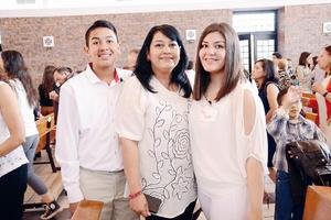 15032016 EN FAMILIA.  Luis Manuel, Norma y Lina.