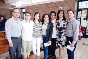 15032016 EN RECIENTE EVENTO.  Baltazar, Daniel, Andrea, Estrella, Balta, Sandra y Miguel.