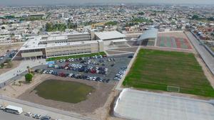 La superficie del terreno en construcción es de 45,954.27 m2.