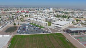 Fueron inauguradas las nuevas instalaciones de la Preparatoria Venustiano Carranza.