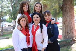 18032016 Elena, Sandra, Cristina, Carmen e Isela.