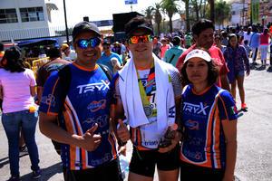 Iván, David y Oralia