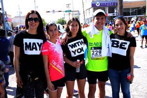 Male, Elena, Sofía, Miguel y Mariana