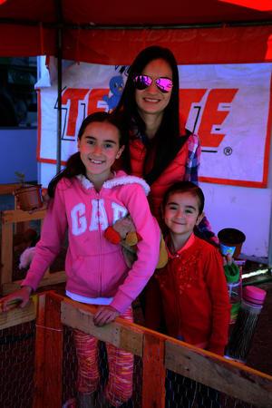 Mariangel, Soraya y Fátima