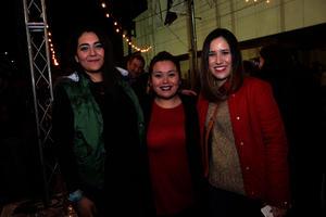 Mariana, Susana y Stephany