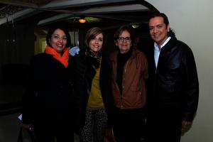 Mayra, Maribel, Ruth Idalia y Arturo