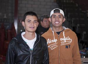 19032016 AMIGOS.  Alejandro y Sebastián.
