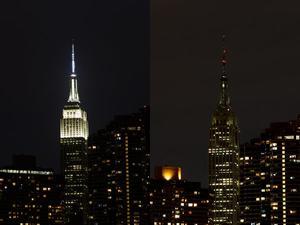Gran Manzana. El Empire State también participó.